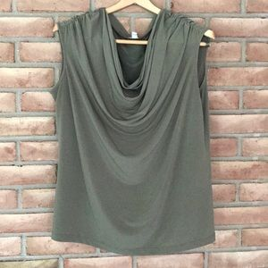 Calvin Klein size XL army green, sleeveless top
